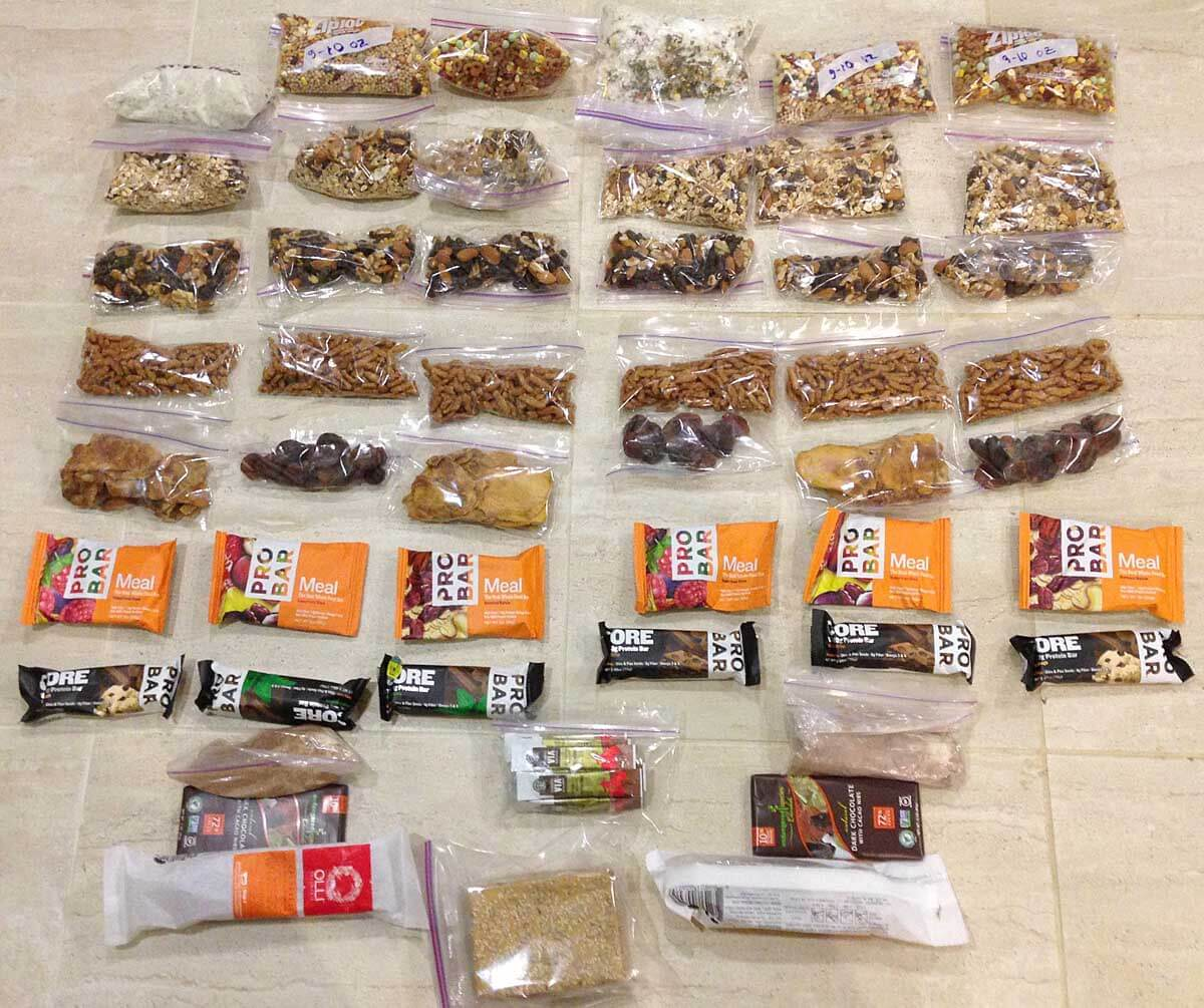Best Backpacking Food - simple and nutritious - Adventure Alan