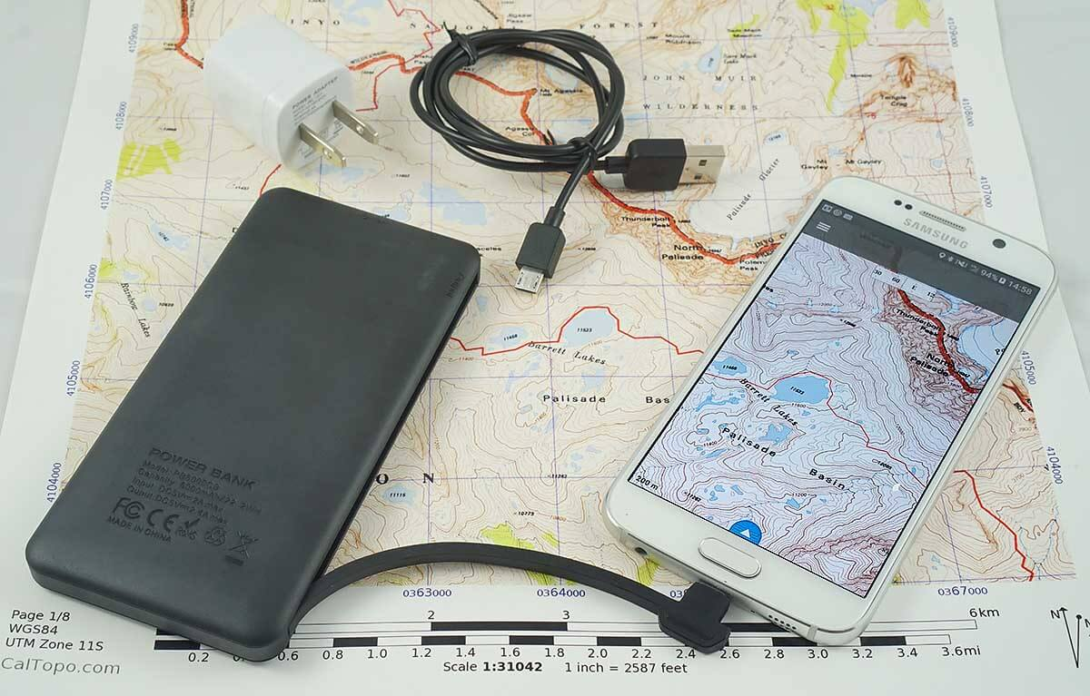How to use your Smartphone as the Best Backpacking GPS