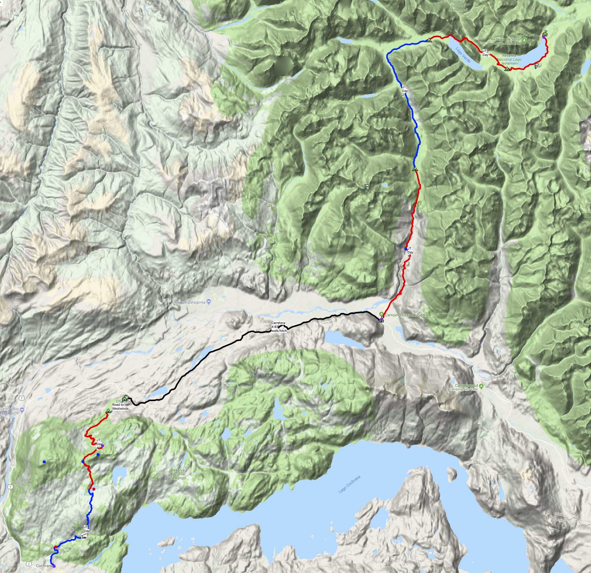 Patagonia National Park Trek Guide