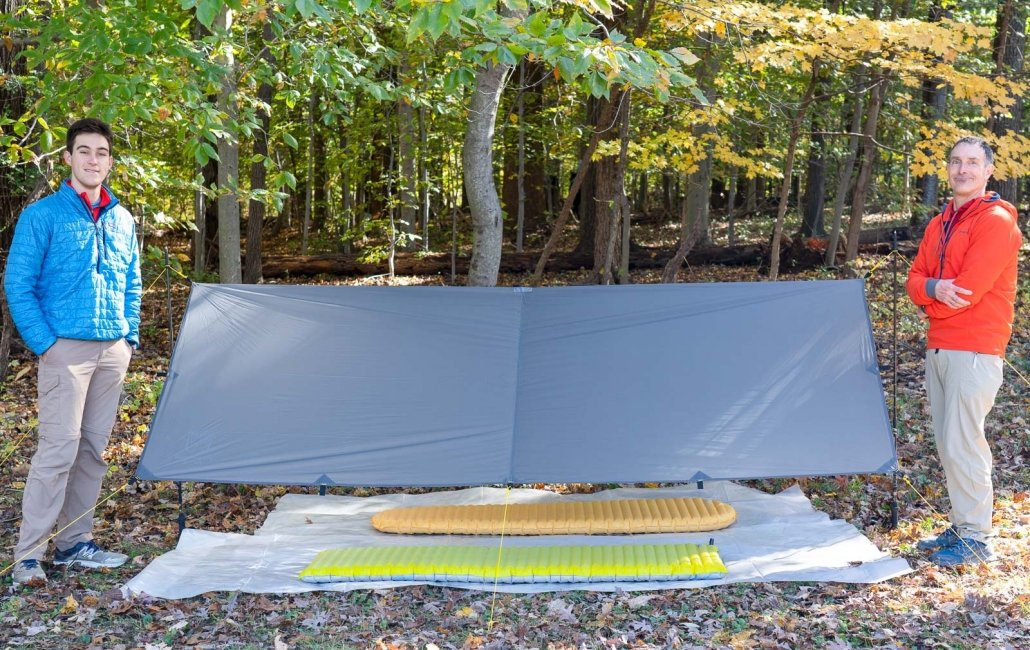 BACKPACKING TENT Paria Outdoors Sanctuary SilTarp 8′ x10′