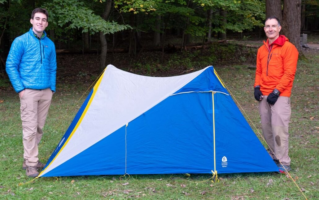 BACKPACKING TENT Sierra Designs High Route 1 FL – 2019 Model