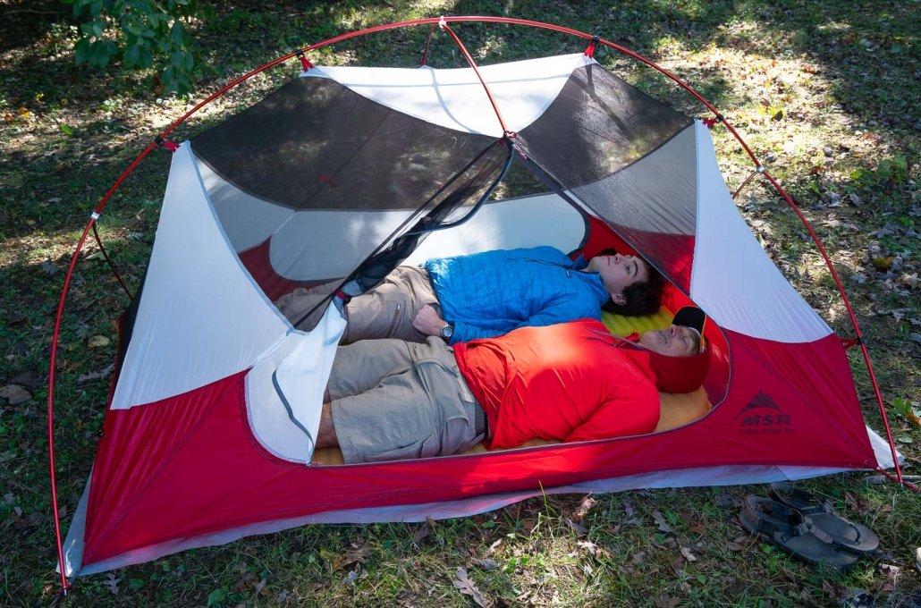 best tents - MSR HUBBA HUBBA NX 2P Tent