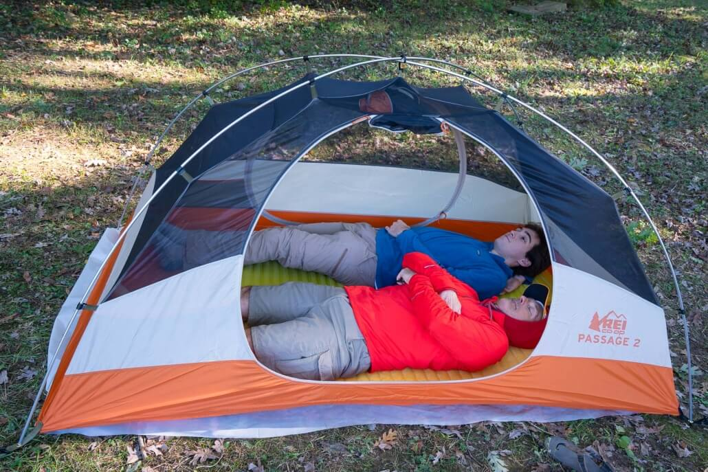 REI CO-OP PASSAGE 2 best backpacking tent
