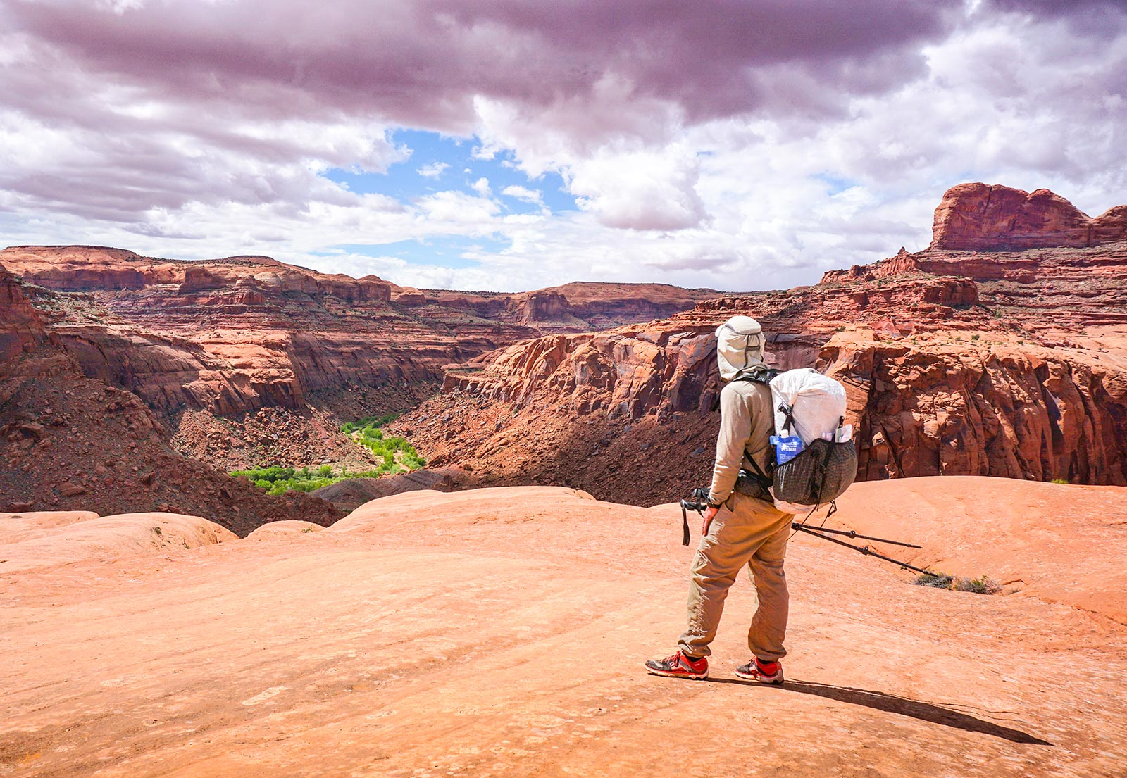 View from Escalante Grand Staircase in Utah