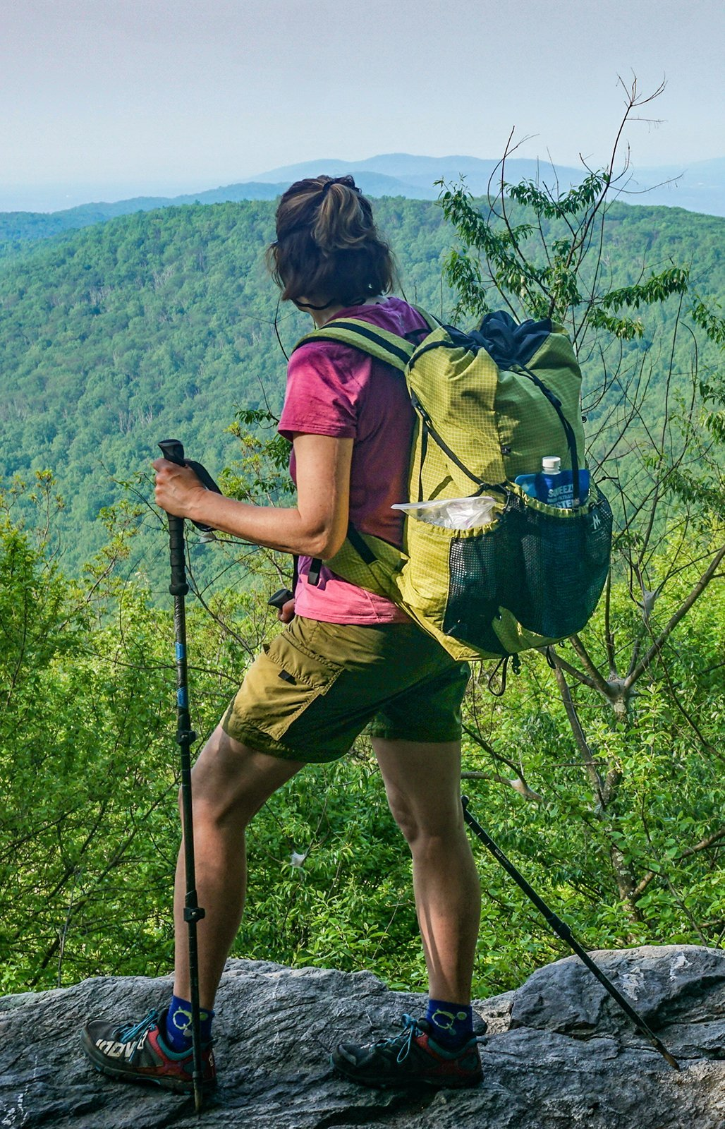 Appalachian Trail scenic overlook