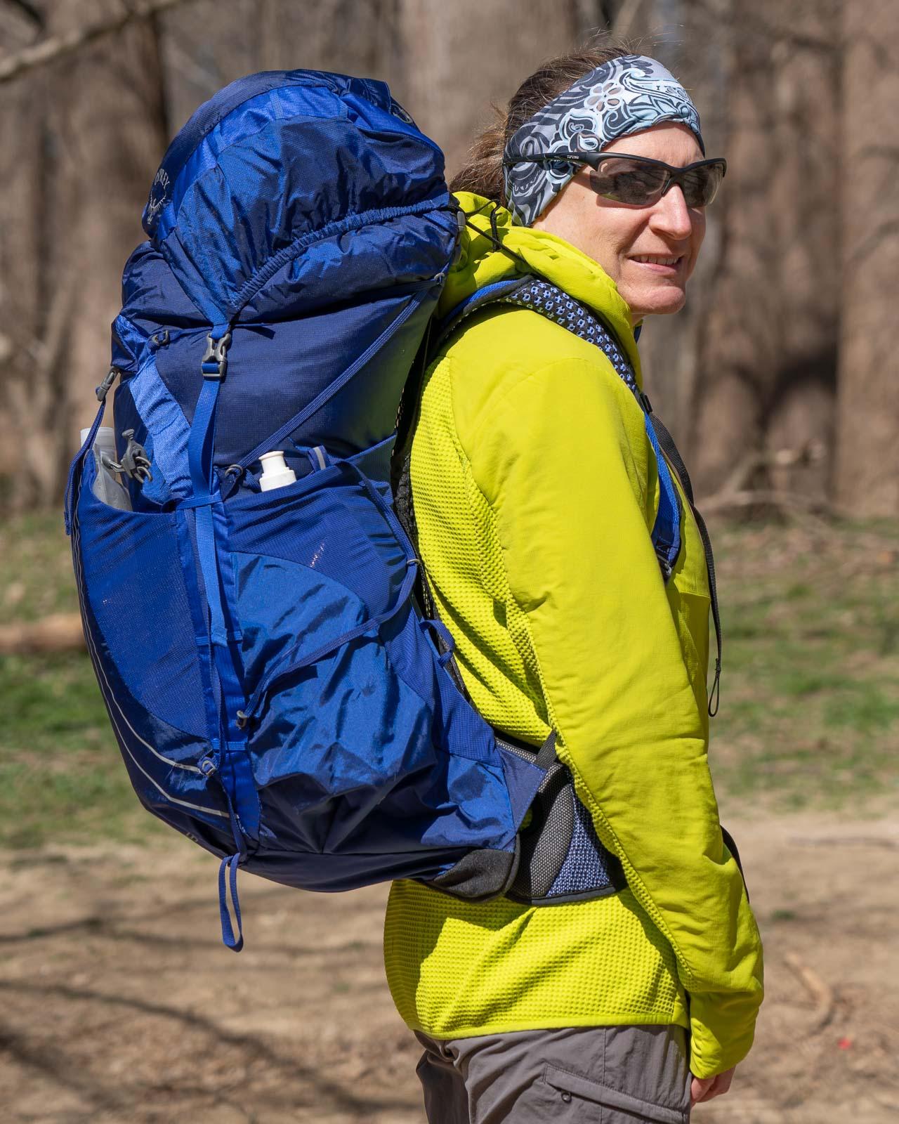 OSPREY EXOS 58 (Men's) & EJA 58 (Women's) Backpacks