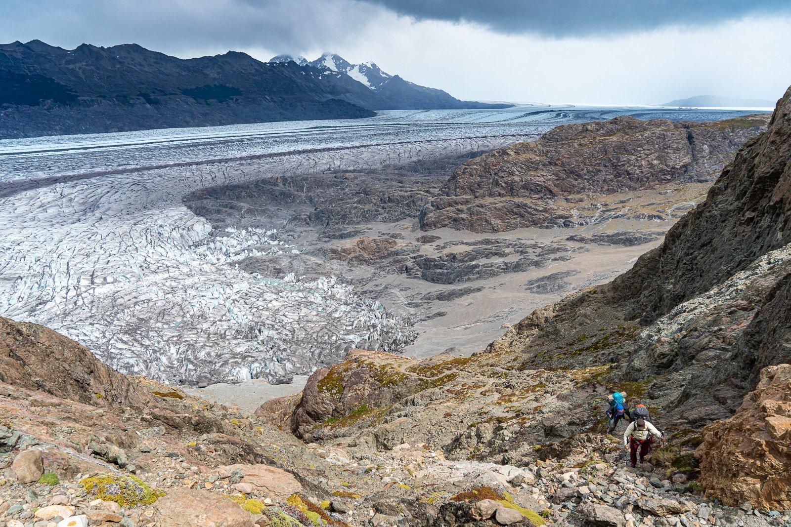 Huemul Circuit. Southern Patagonia Ice Shelf and Paso Huemul
