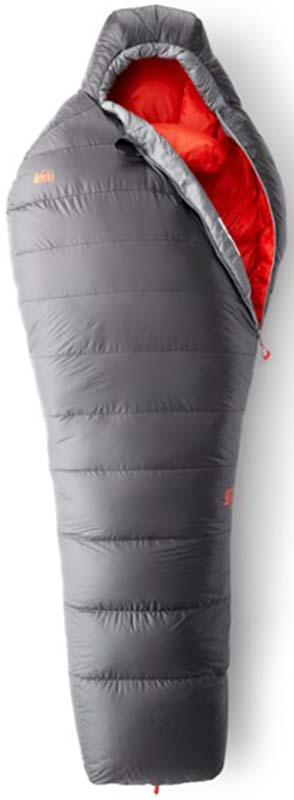 down backpacking sleeping bag - rei magma 15