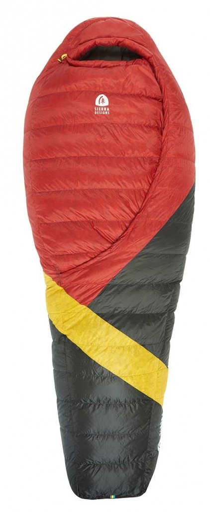 ultralight backpacking sleeping bag - sierra designs cloud 20F