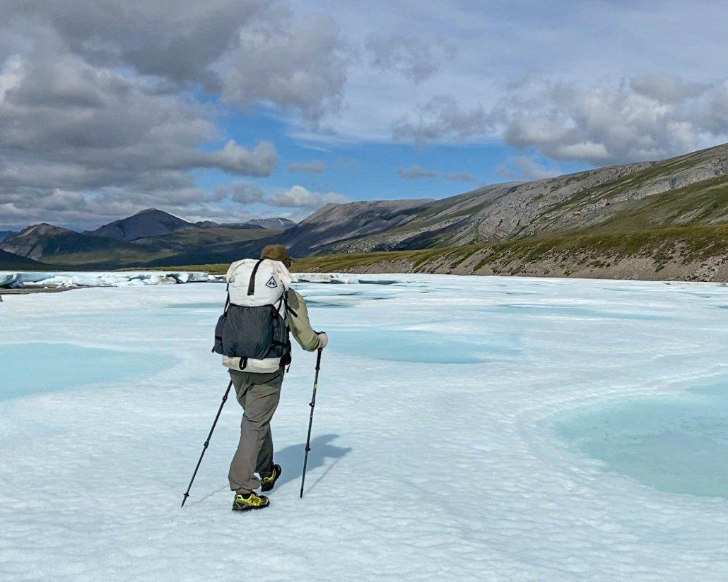Trekking poles for backpacking