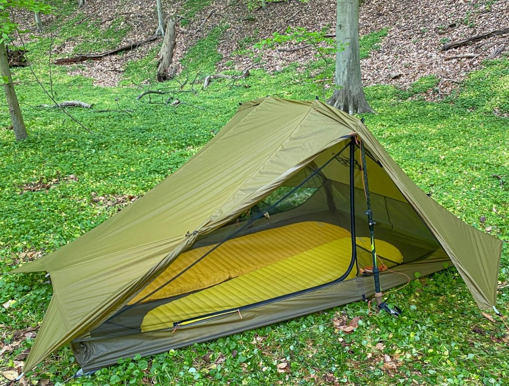 REI Flash Air 2 Tent interior