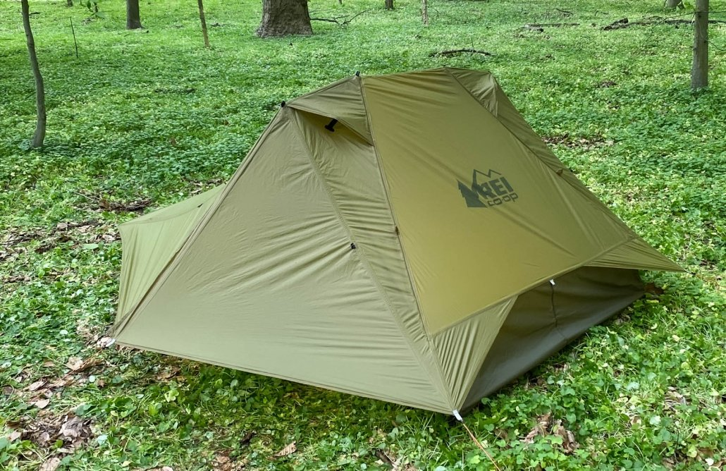 rei co-op flash air 2 tent in storm mode