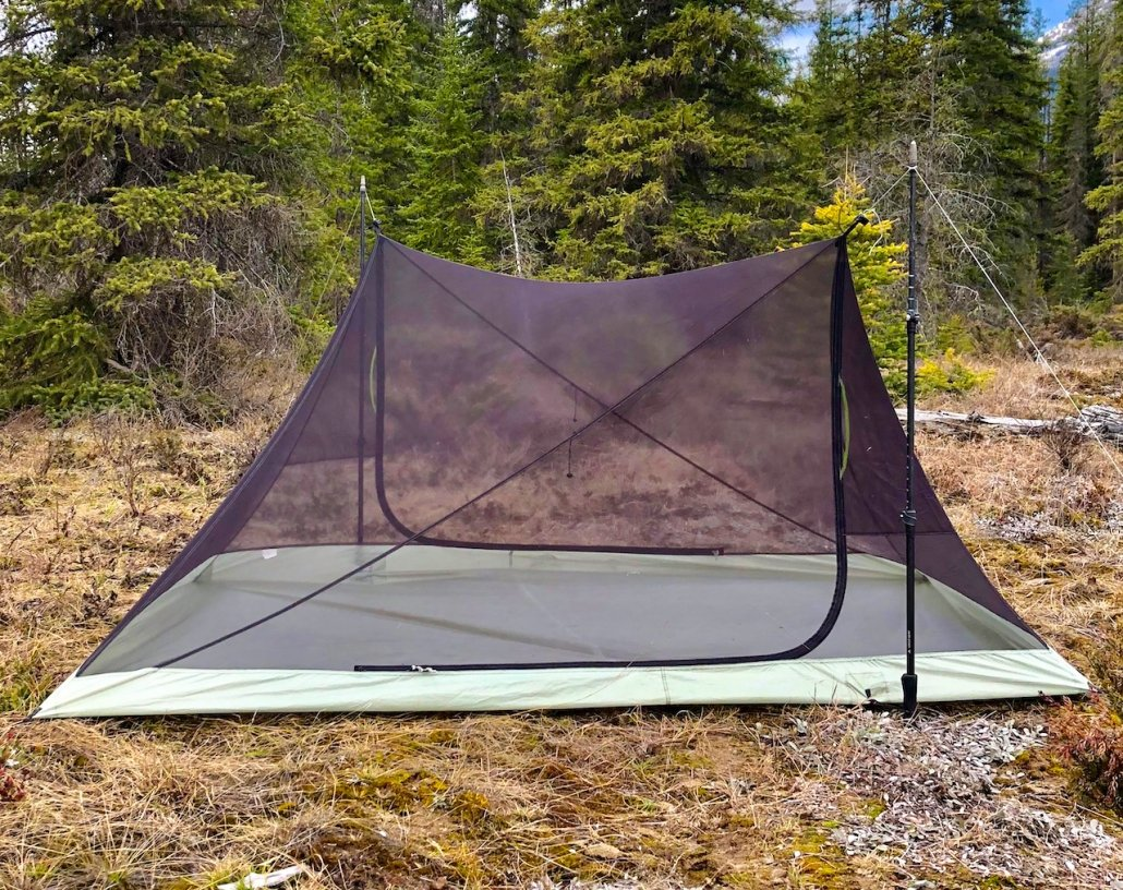 x-mid tent without outer layer