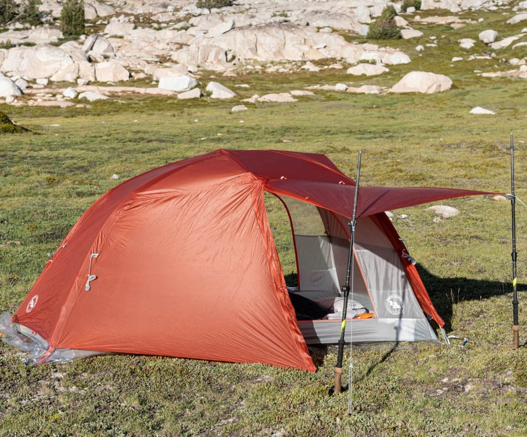 big agnes copper spur hv ul2 with awning