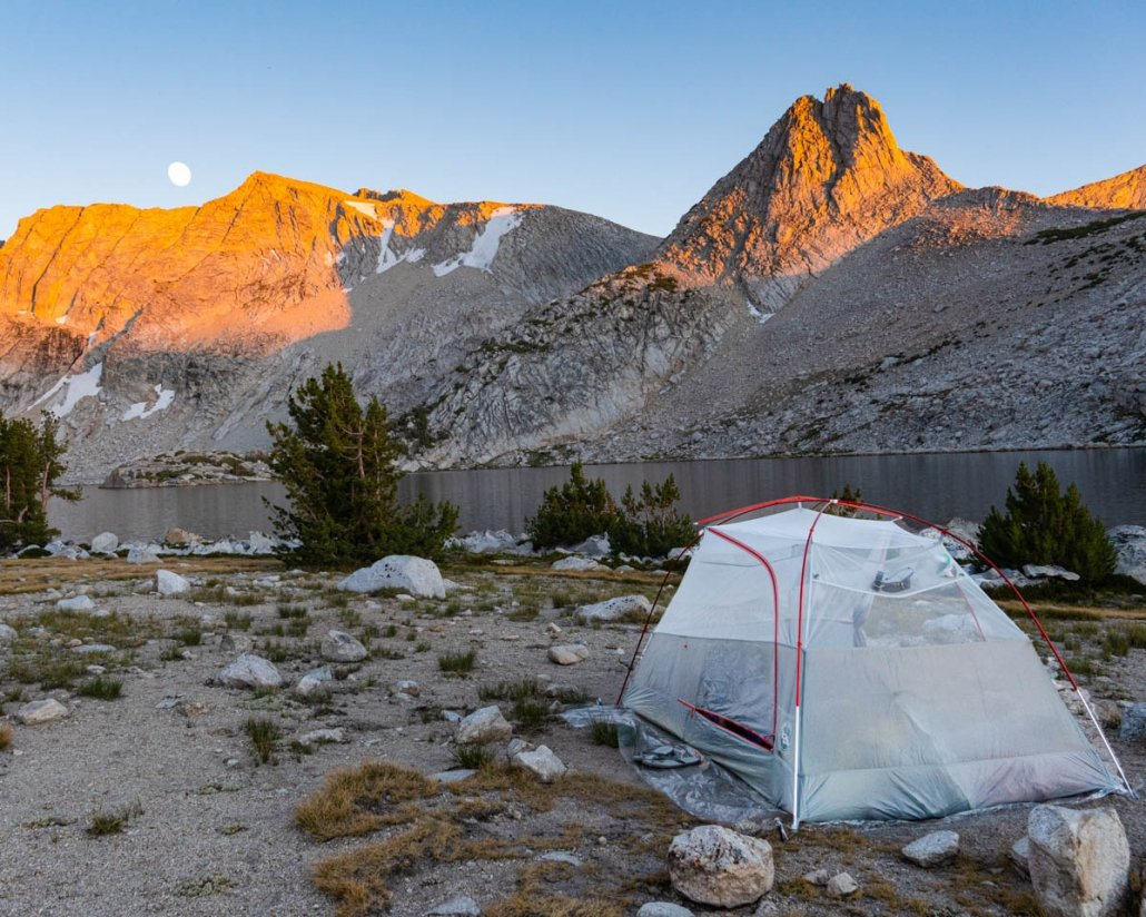 Couples Backpacking Gear trip