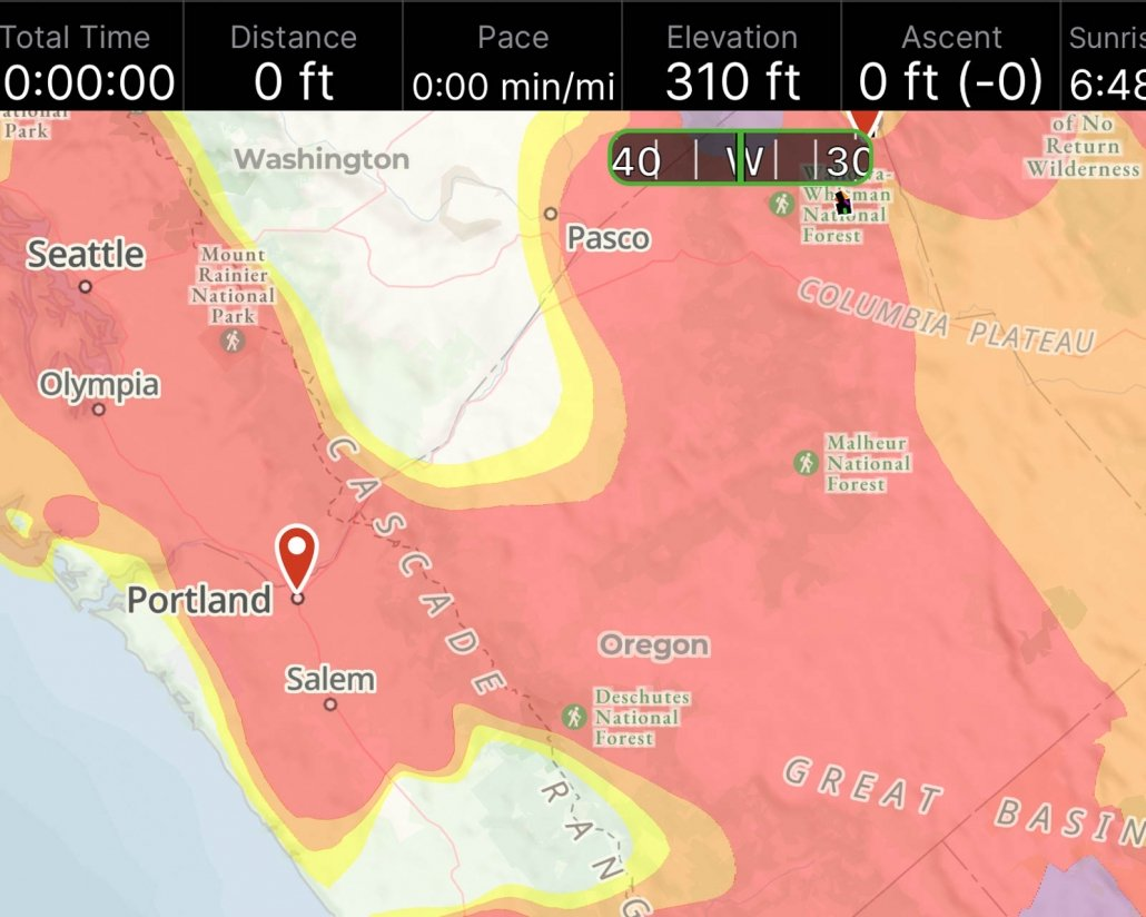 Air Quality Map | Wildfire Safety Hiking and Backpacking