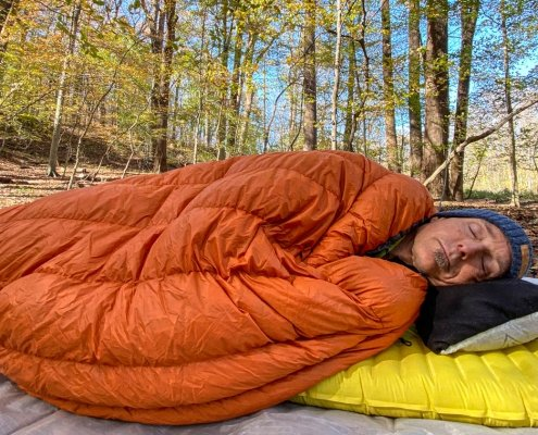 Hammock Gear Economy Burrow Quilt Review
