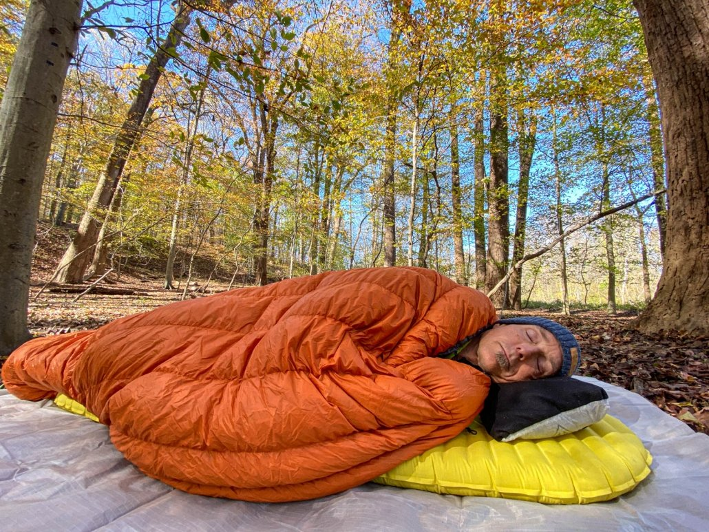 hammock gear quilt review of the economy burrow