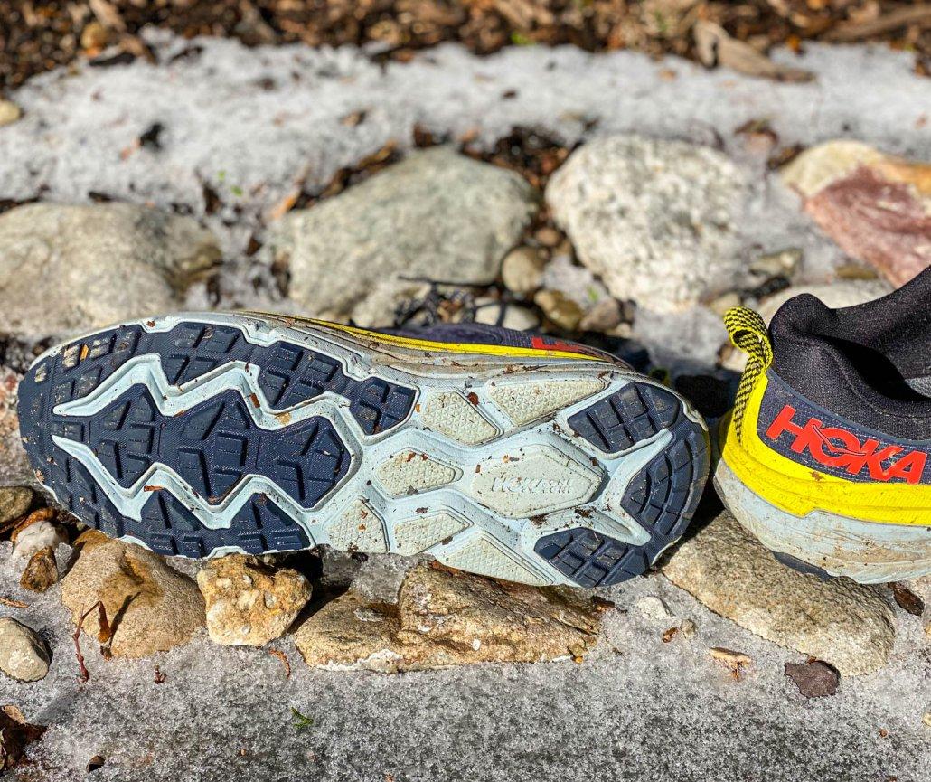 hoka one one challenger sole