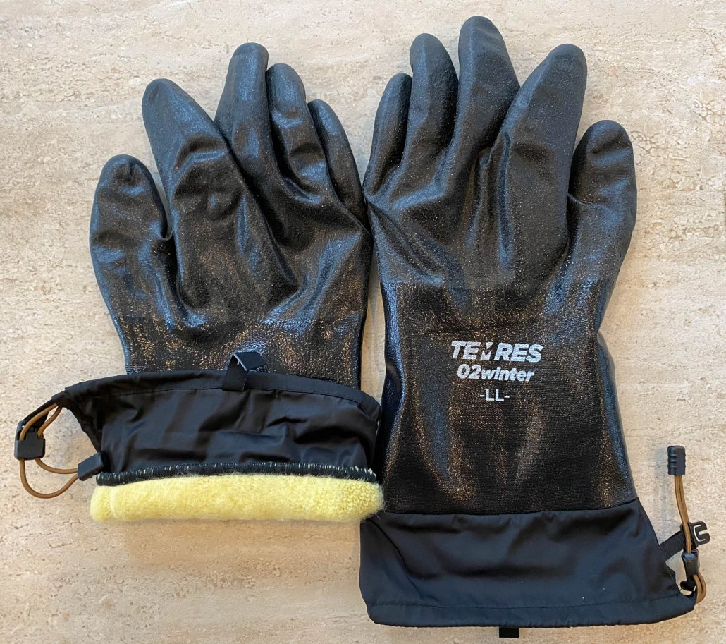 lightweight waterproof gloves for winter - showa temres 282-02