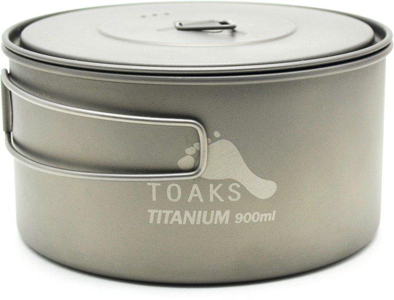 TOAKS Titanium 900ml D130mm Pot
