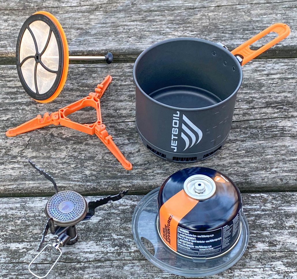 best backpacking stove - the new JetBoil STASH stove