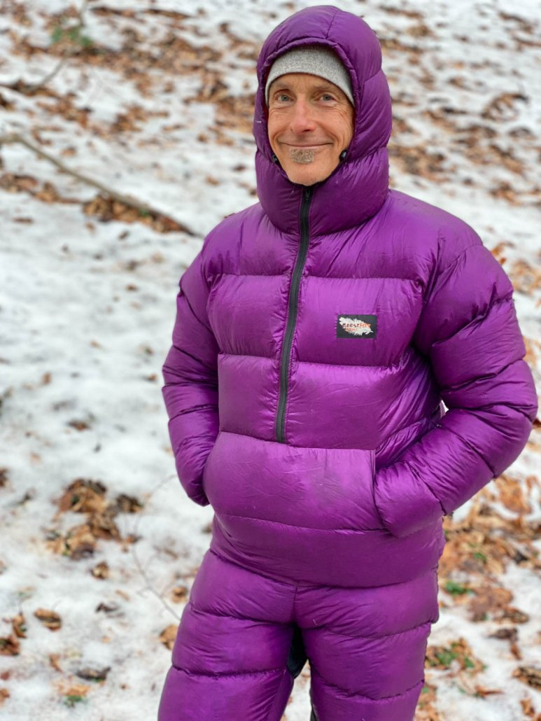 Our Down Pick: GooseFeet Gear Down Jacket & Pants