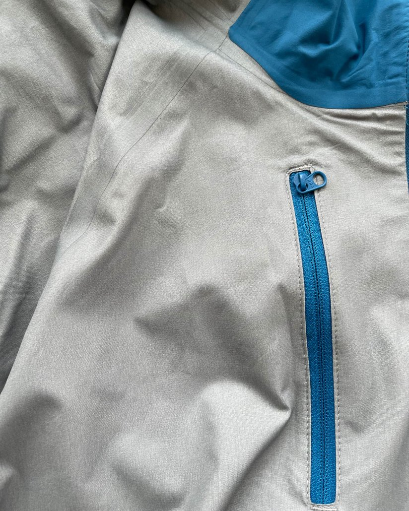 AscentShell fabric detail Outdoor Research Motive AscentShell Jacket