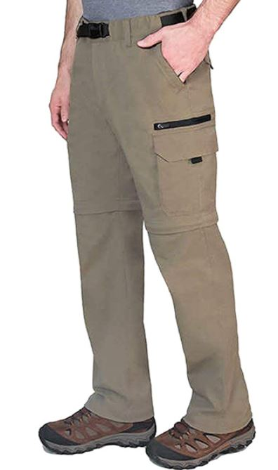 BC Clothing Convertible Pants with Stretch