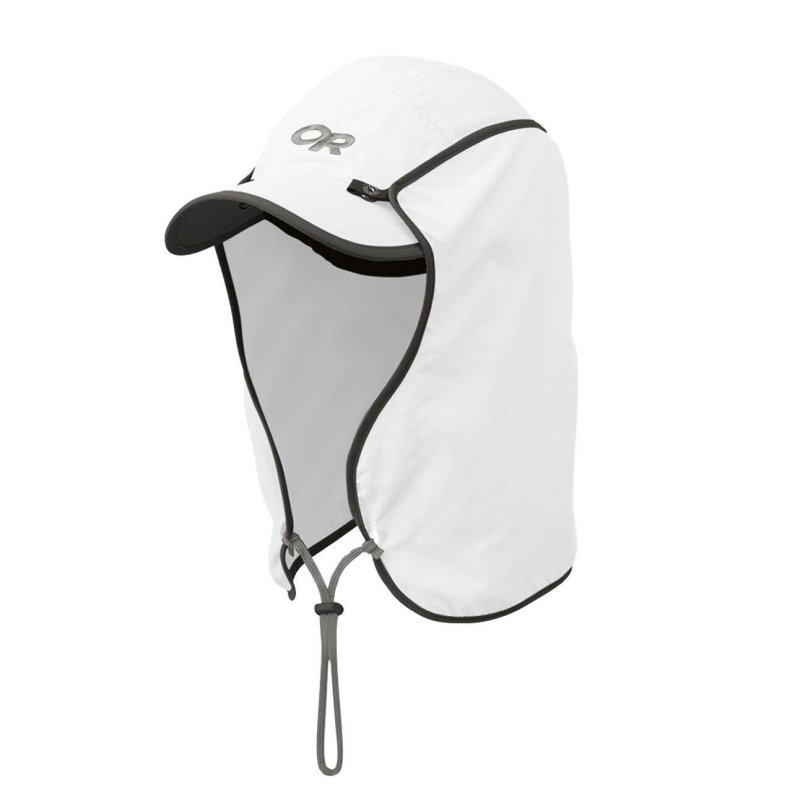 Outdoor Research Sun Runner Cap option for Lightweight Backpacking Gear on Amazon Prime